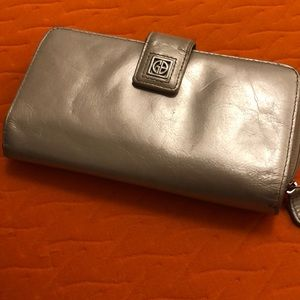 Gianni Bernini Leather Wallet Good Condition